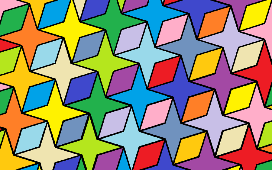 Alternating Tessellations by Quipitory on deviantART | Ways to ...