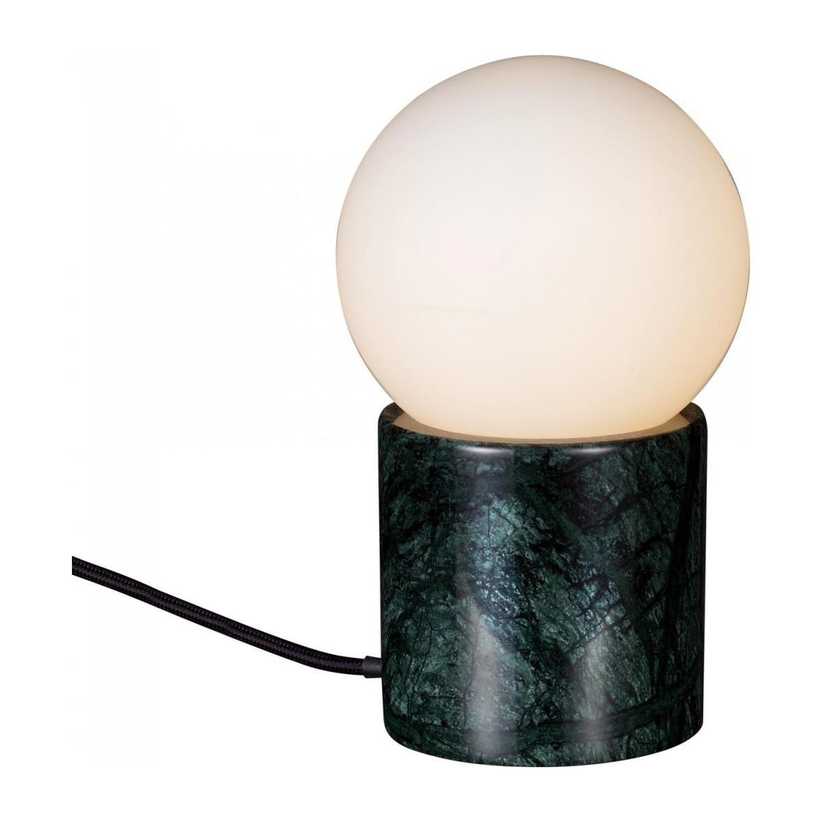 Marball Lampe De Table En Marbre Verre Marble Table Lamp Green