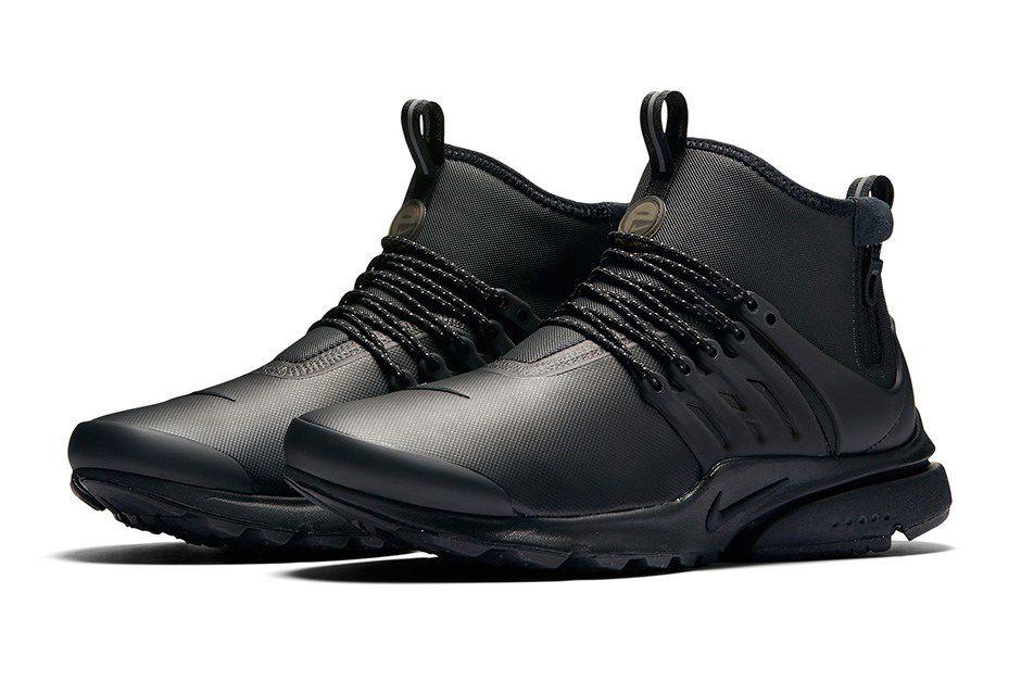 Nike Air Presto Mid Utility Releasing In 5 Colorways In November Sneakers Men Fashion Sneakers Men Sneakers