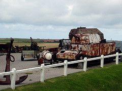 Tank (Dylan Curtis) Tags: france tank guns armour capgrisnez defences wartime pasdecalais batterietodt