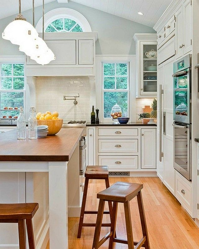 contemporaneo estilo cocina azulejos blancos bonita muebles