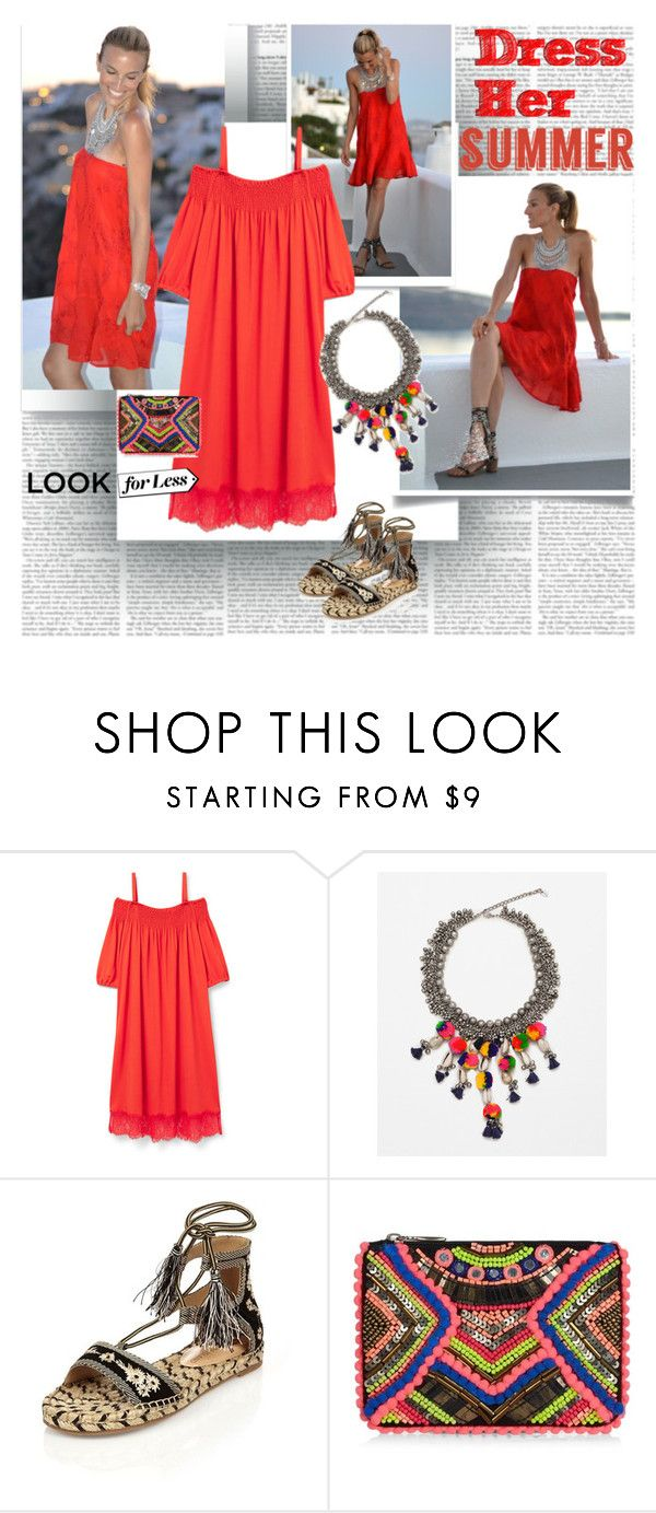 """""""Dress Her Summer"""" by stylepersonal ❤ liked on Polyvore featuring Violeta by Mango, Zara, River Island, New Look, Summer and dress"""