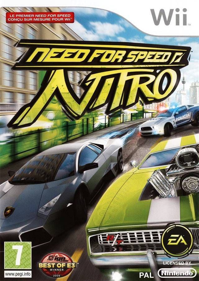 Need for Speed: Nitro - Wii - ISO Download | PortalRoms com | wii
