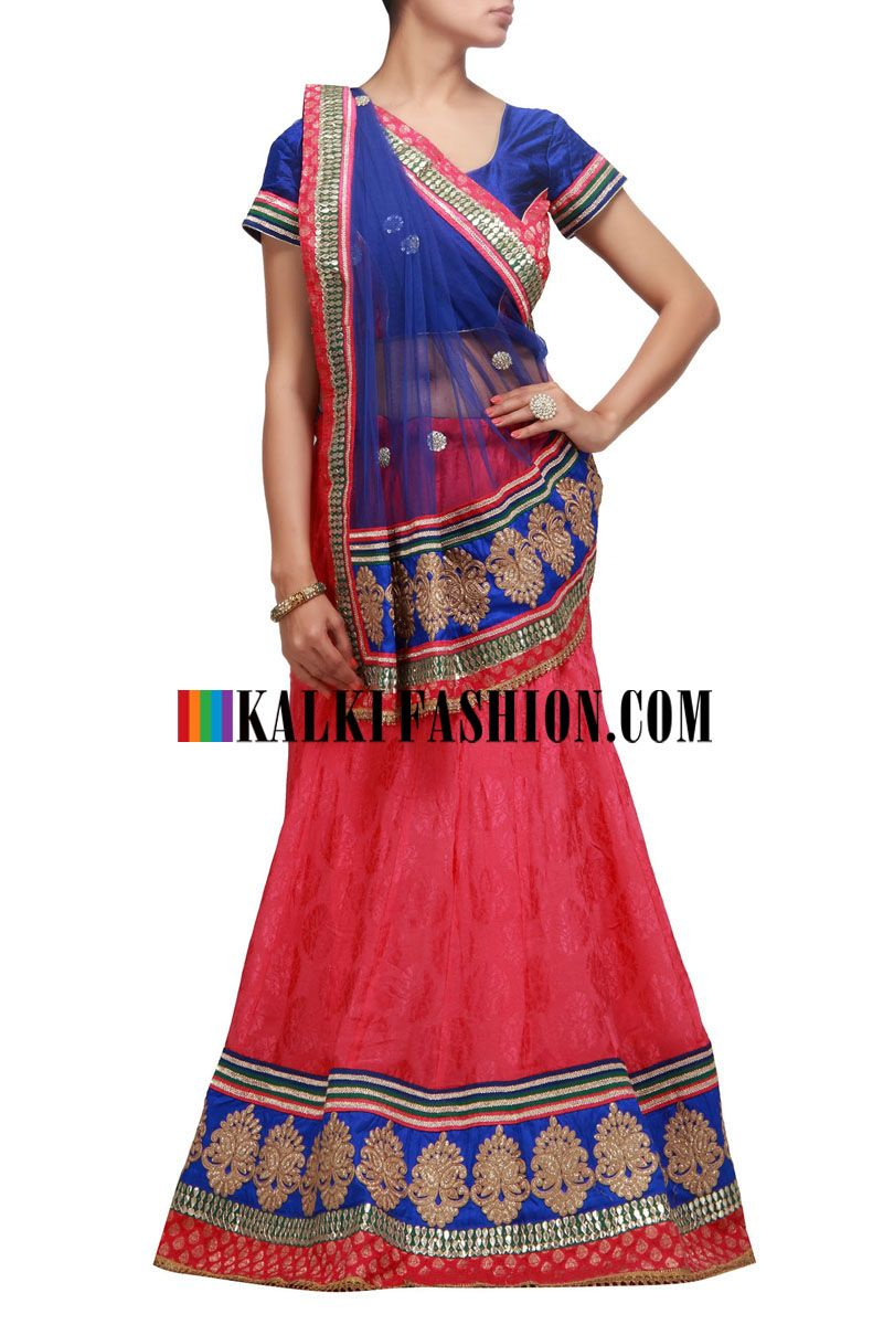 13b8a2acc3da Indian Outfits · Indian Couture · Tie Dye Skirt · Wedding Styles · Buy it  now http://www.kalkifashion.com/pink-lehenga