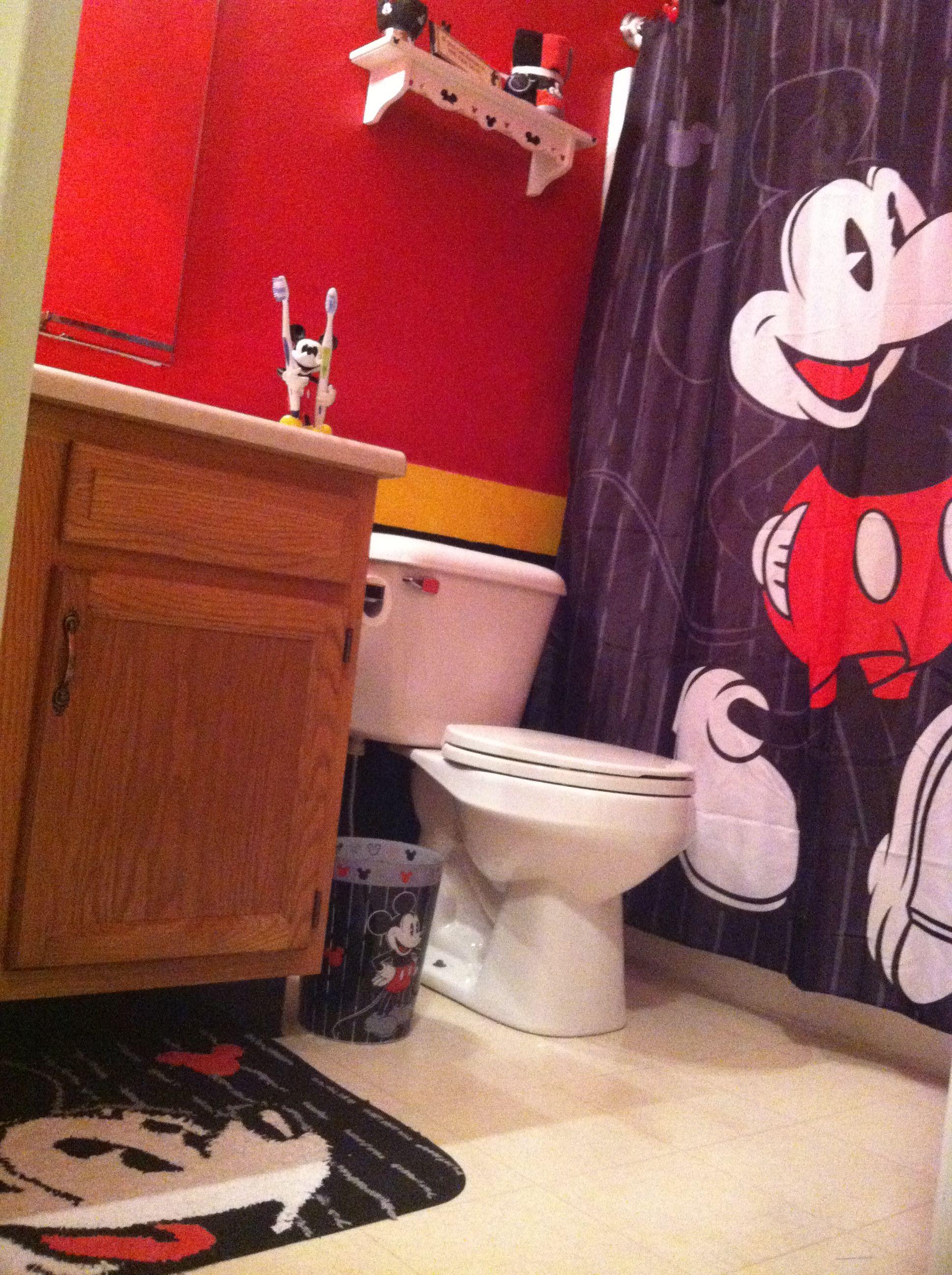 Mickey Mouse Bathroom Mickey Mouse Bathroom Mickey Bathroom