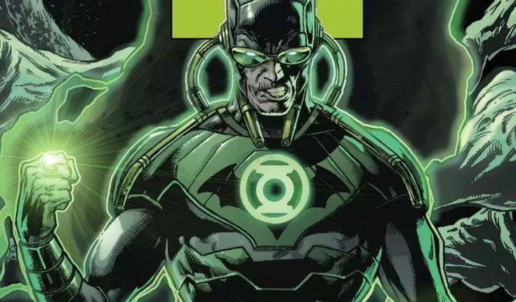 Bruce Wayne with Green Lantern Ring