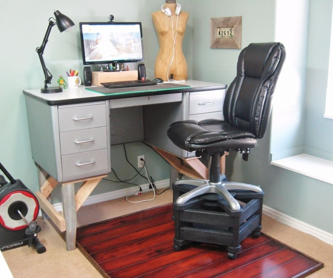 Attentiongrabbing stand up desk chair furniture for home