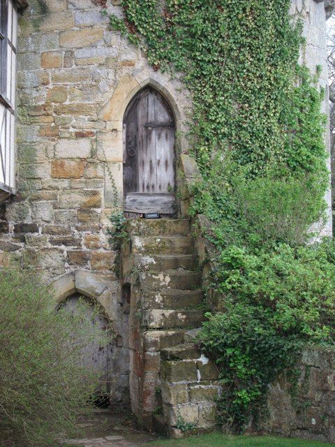 Steps to door at Scotney Old Castle by Oast House Archive via Geograph & Steps to door at Scotney Old Castle by Oast House Archive via ... pezcame.com