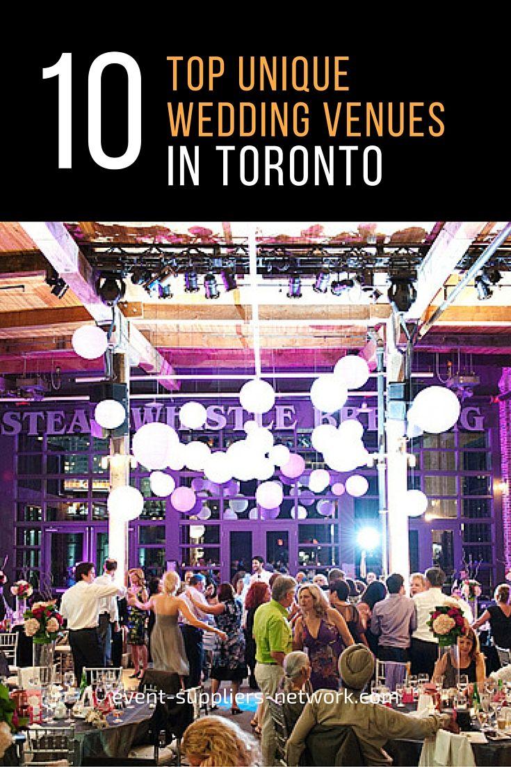 10 Unique Wedding Venues in Toronto Event Suppliers