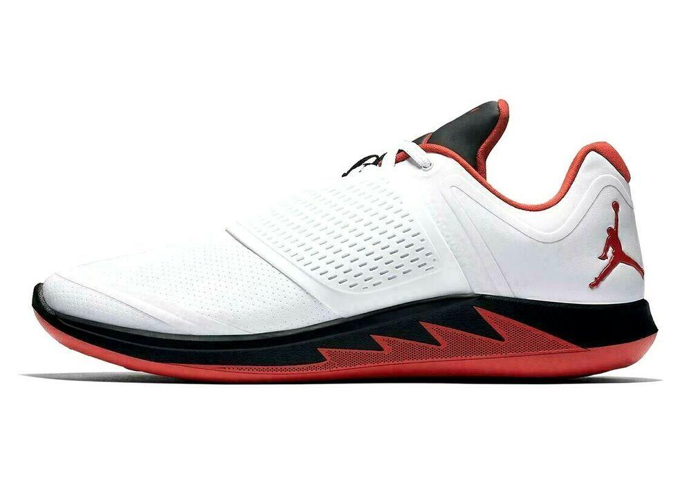 Jordan Grind 2 Running Shoes Mens 13 White Fire Red Black #Jordan ...