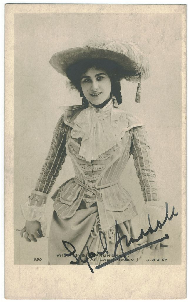 Sybil Arundale | ARUNDALE, Sybil_Beagles. 690. As Lady Molly. Signed