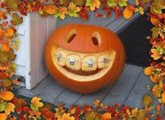 Braces Pumpkin Fall Thanksgiving Pinterest