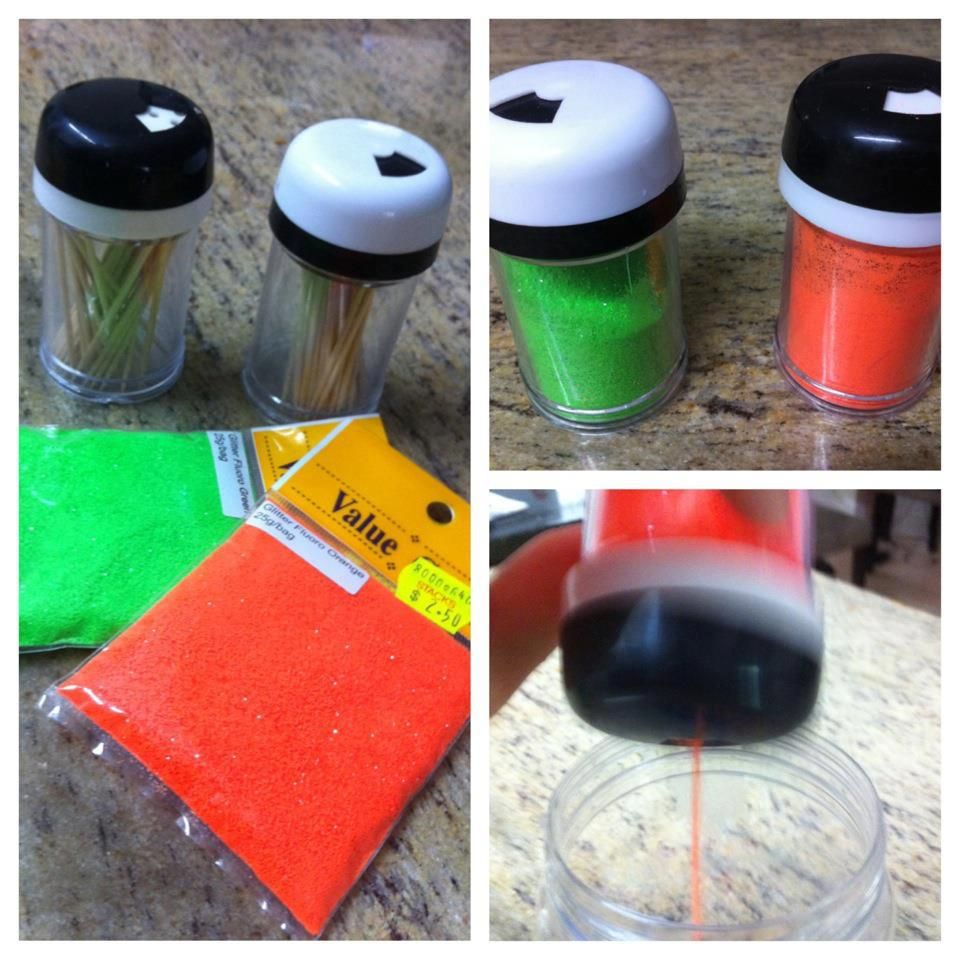 DIY glitter shakers!  Get the instructions here: http://www.facebook.com/photo.php?fbid=272284799513091=a.138784272863145.34958.118018038273102=1