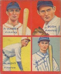 1935 Goudey 4 In 1 R321 19 Guy Bush Waite Hoyt Lloyd