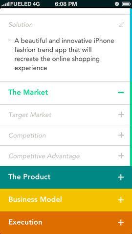 Screenshot Of Elevatr Ios Application App App Design