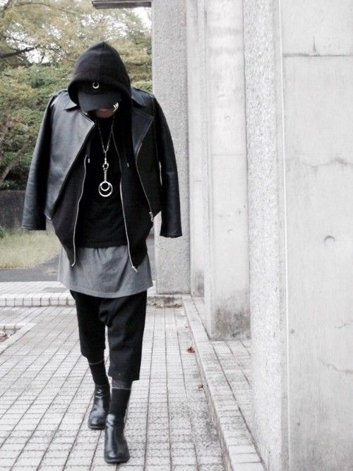 ライダース パーカー サルエル d twitter instagram moteaso メンズ コーディネート ファッション メンズ
