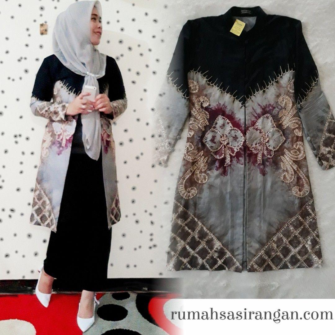 Model Baju Sasirangan Wanita Kombinasi