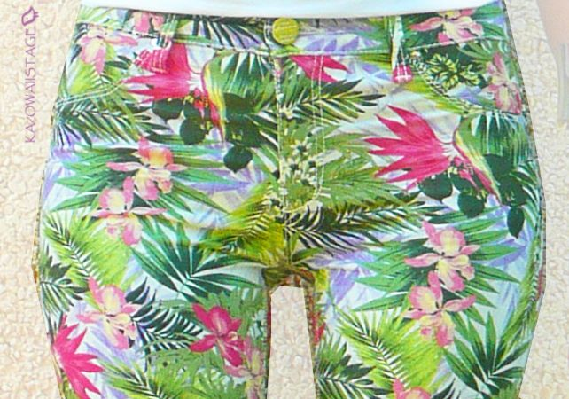 Outfit II: Tropical Pants