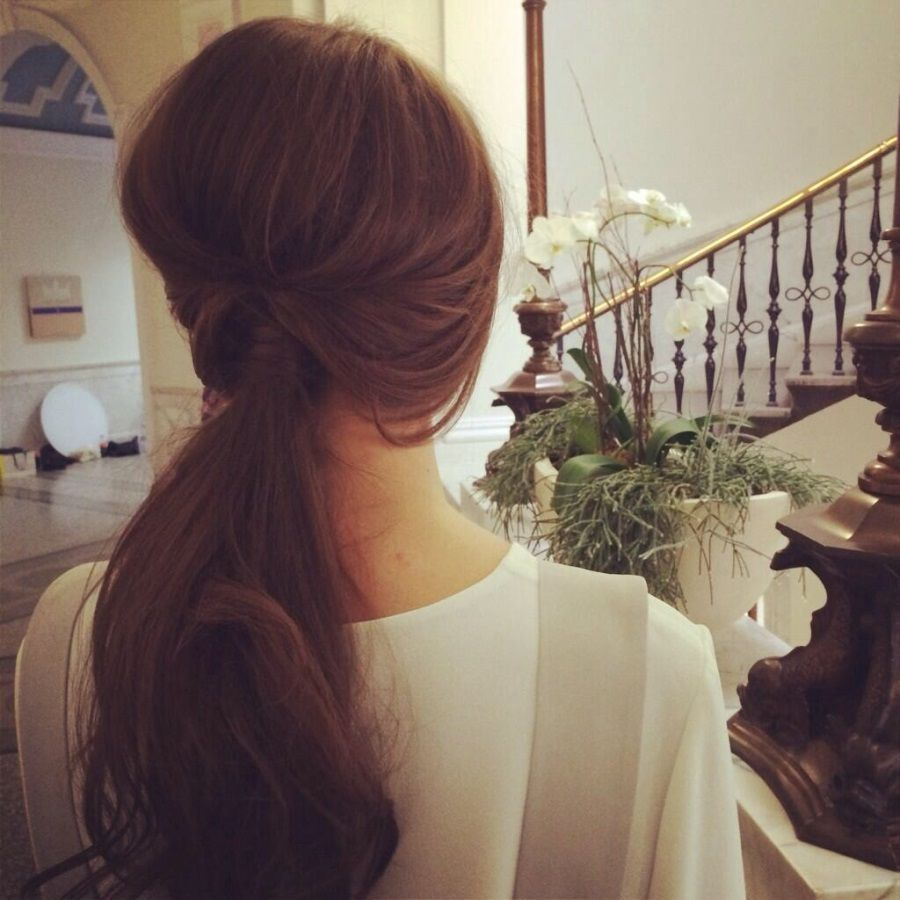 Christmas Party Hairstyles – The Perfect Party Ponytail | ¡que ...