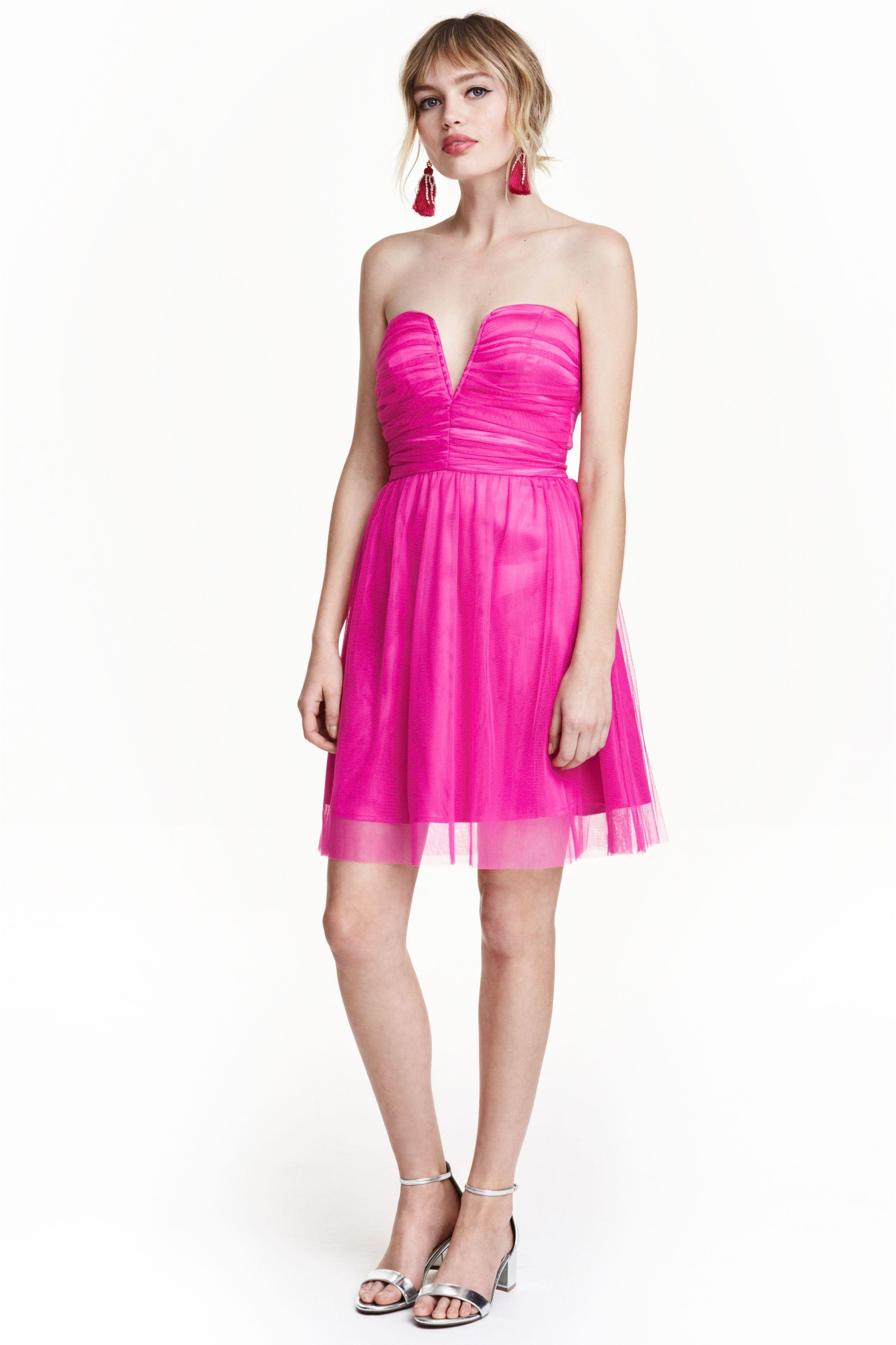 Robe en tulle by H&M France | via malinshopper.com | Mode Femme ...