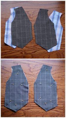 7bb170f61 B is for Boy!: Little Gentleman's Faux Vest Onesie | DIY | Boys ...