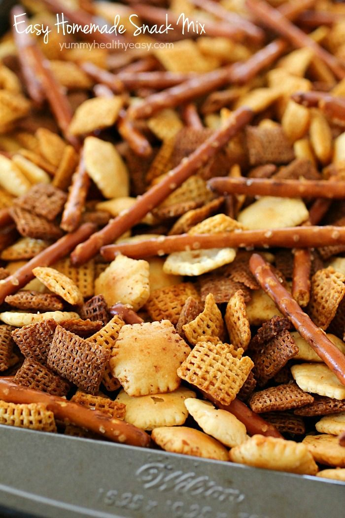 This homemade snack mix recipe is so easy to make and tastes this homemade snack mix recipe is so easy to make and tastes delicious cereal ccuart Image collections