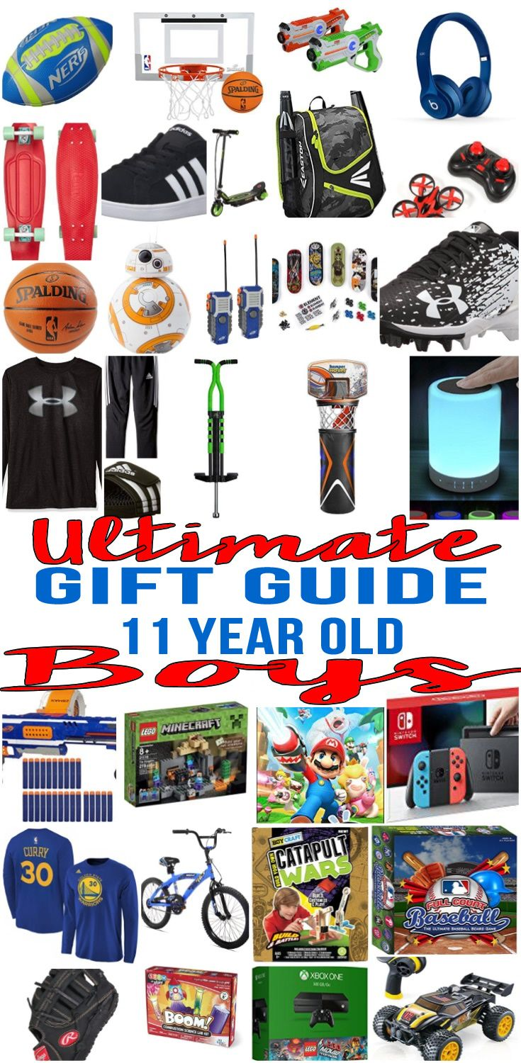 Best Gifts For 11 Year Old Boys | Tween, Christmas gifts and Gift