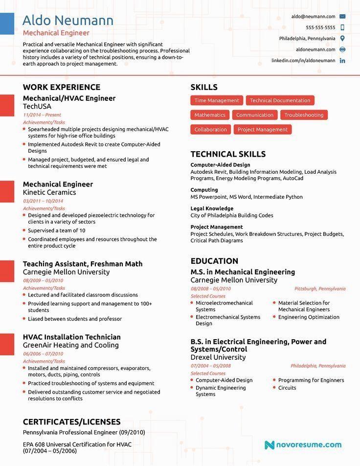 3 Amazing Engineering Resume Examples LiveCareer