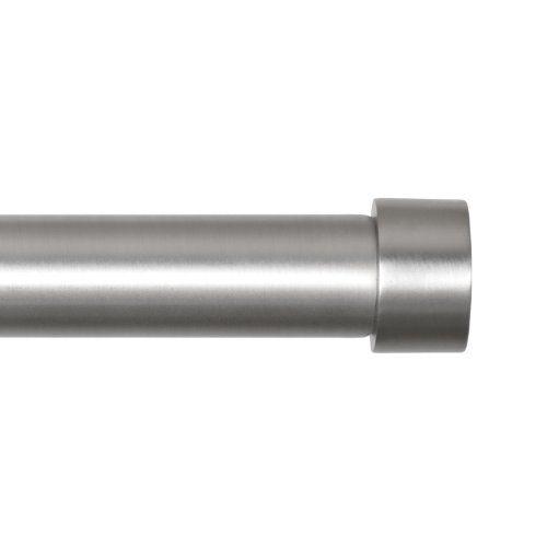 Umbra Cappa 3 4 Inch Drapery Rod For Window 72 To 144 Inch
