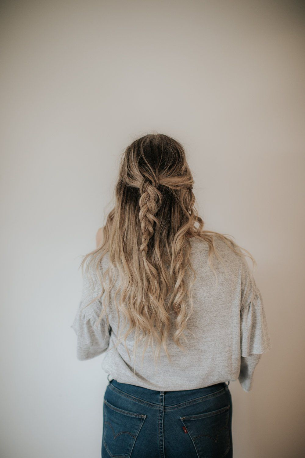 3 Quick and Easy Hairstyle Ideas for Thick Hair   Thick ...