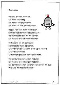 neue lesetexte f252r die 1 bis 6 klasse deutsch and
