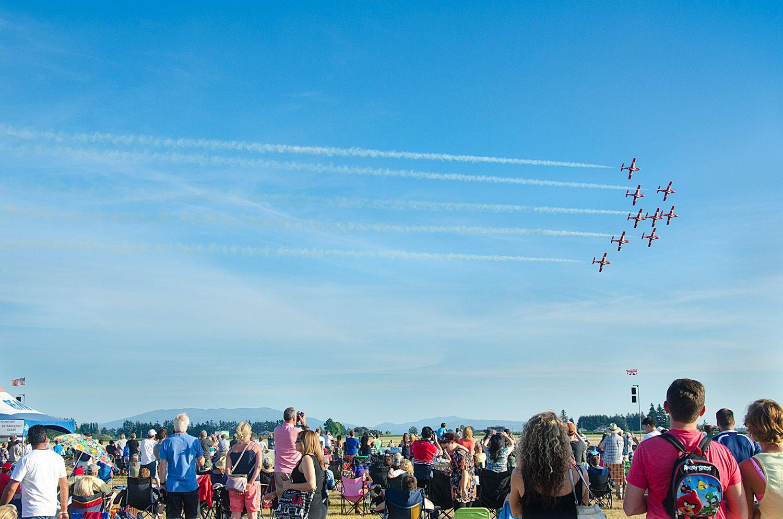 2017 Abbotsford Air Show on Abbotsford Air Show Weekend