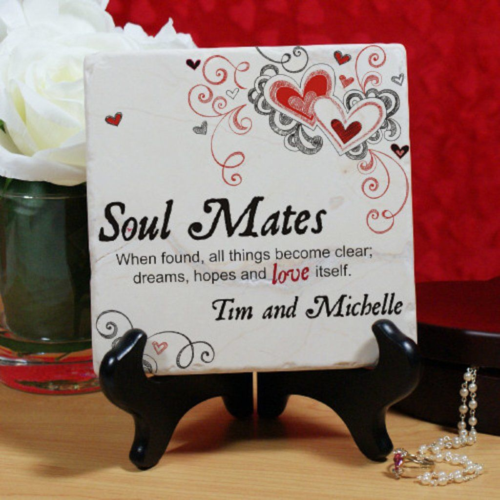 personalized soul mates personalized tuscon stone with