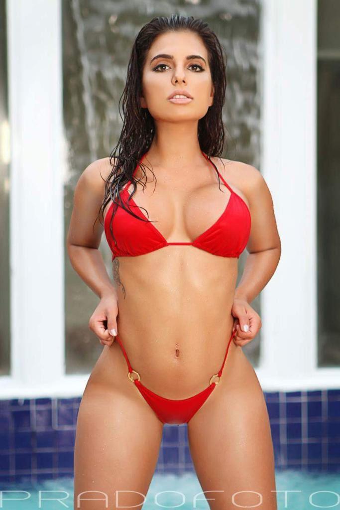 921ba652cd5 Drisana Shama wearing a Sale Bikini, Scrunch Bottom Mini Bikini. Grab Bag  Swimsuit Special
