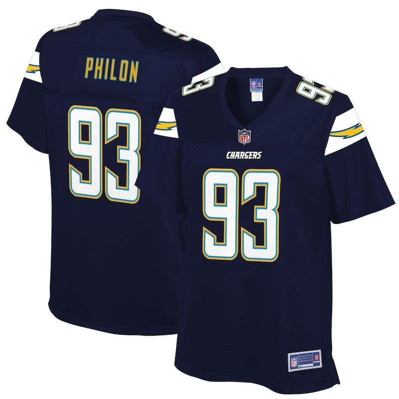 huge selection of 5d344 41a73 Women's Los Angeles Chargers Darius Philon NFL Pro Line Team ...