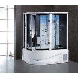 Maya Bath Siena Steam Shower And Whirlpool Bath Steam Showers