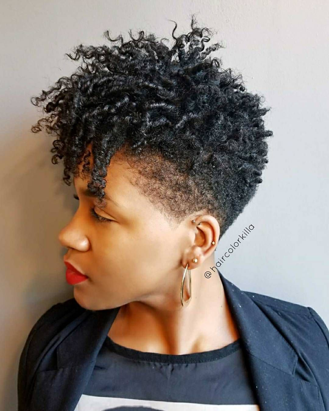 Fresh taper and coils on lisaelainemua thecutlife