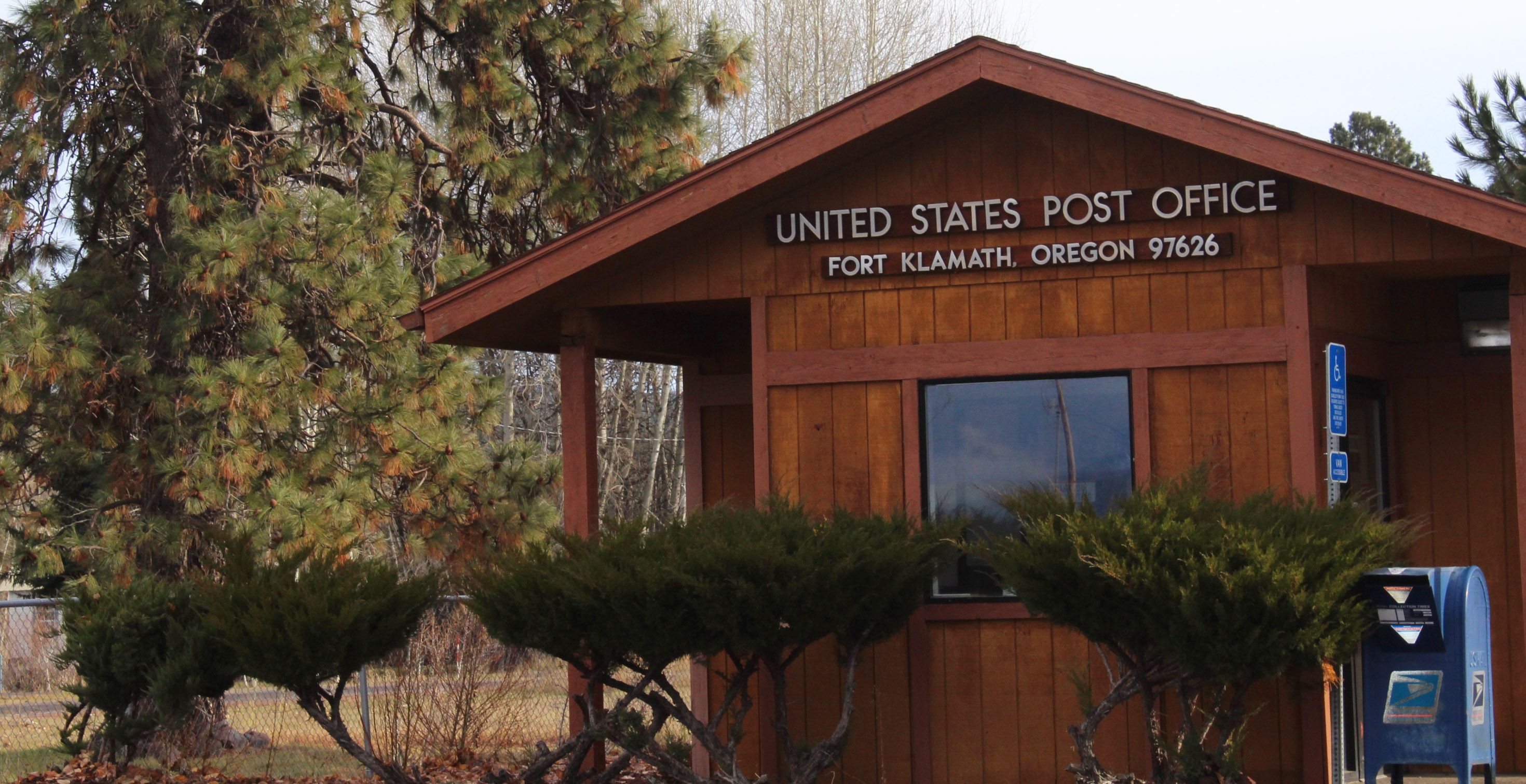 Rural post office oregon more the merrlier collage artist