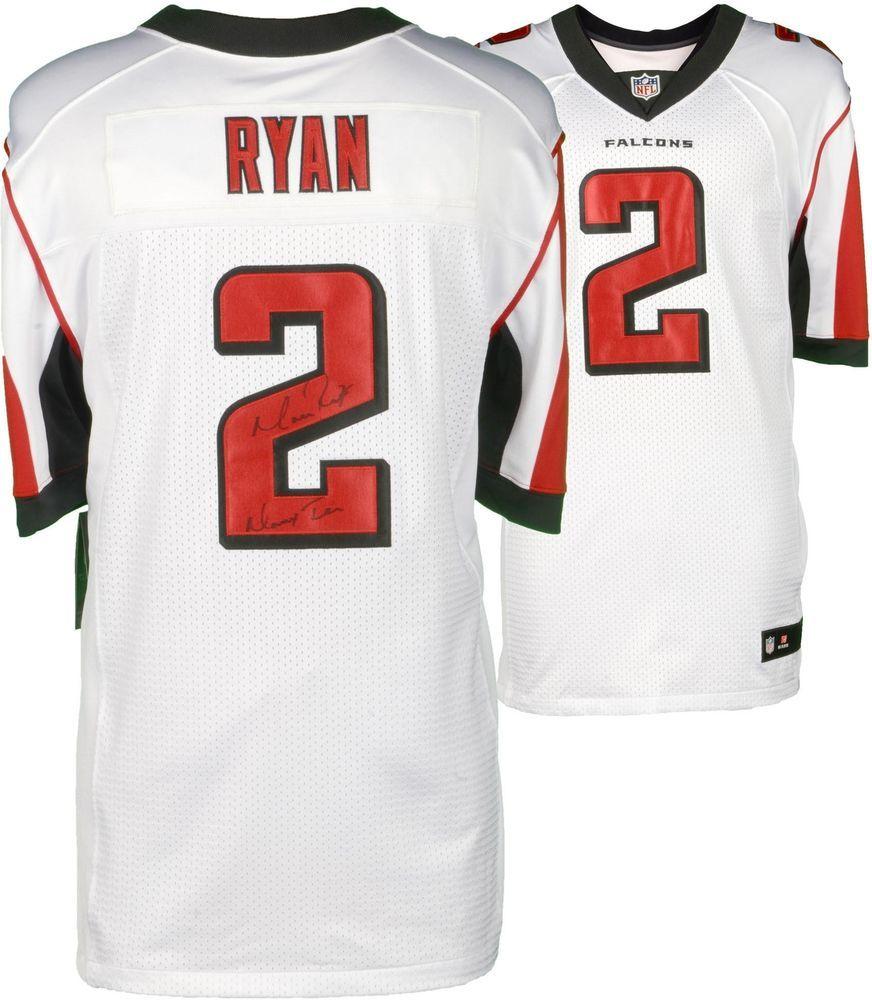 Matt Ryan Atlanta Falcons Signed Nike White Elite Jersey With Matty Ice Insc Sportsmemorabilia Autogr Atlanta Falcons Matt Ryan Atlanta Falcons White Nikes