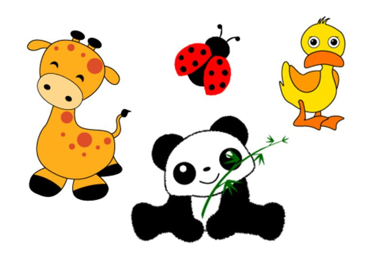 Nalinn I Will Draw Any Object Or Animal Clip Art Or Illustration For 15 On Fiverr Com Cute Animal Clipart Animal Clipart Clip Art