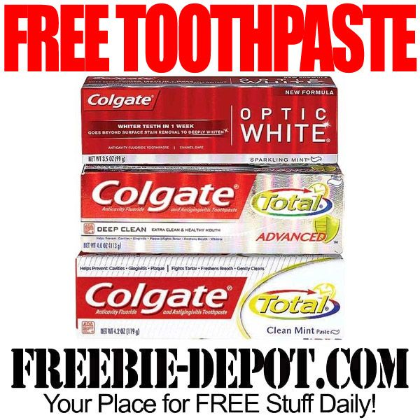 Free After Rebate Colgate Toothpaste With Coupon At