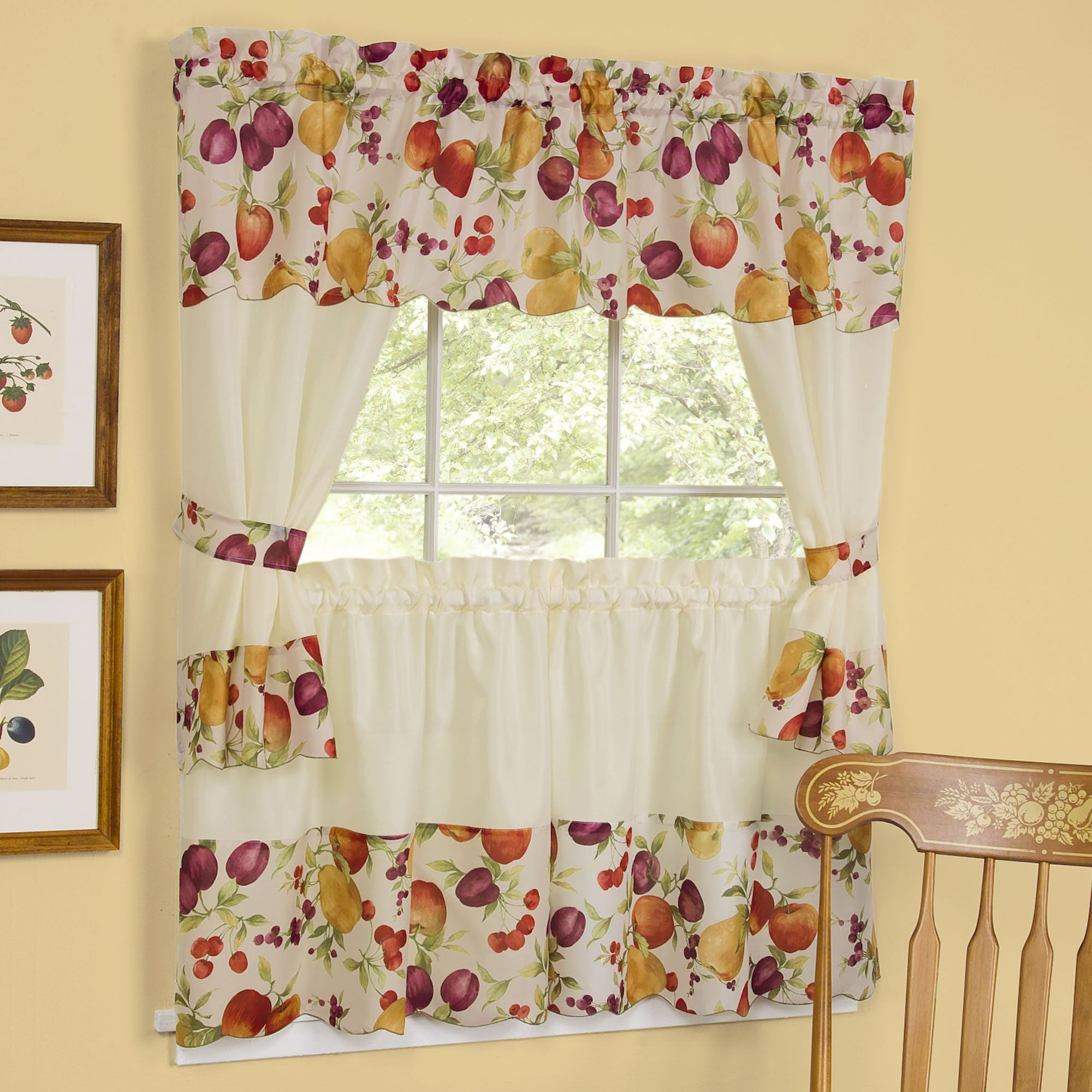 Kitchen Curtains Fruit Design Interior Paint Color Trends Check More At Http Mindlessapparel Com Kitchen Curtains F Cottage Curtains Cool Curtains Curtains Kitchen curtains with fruit design