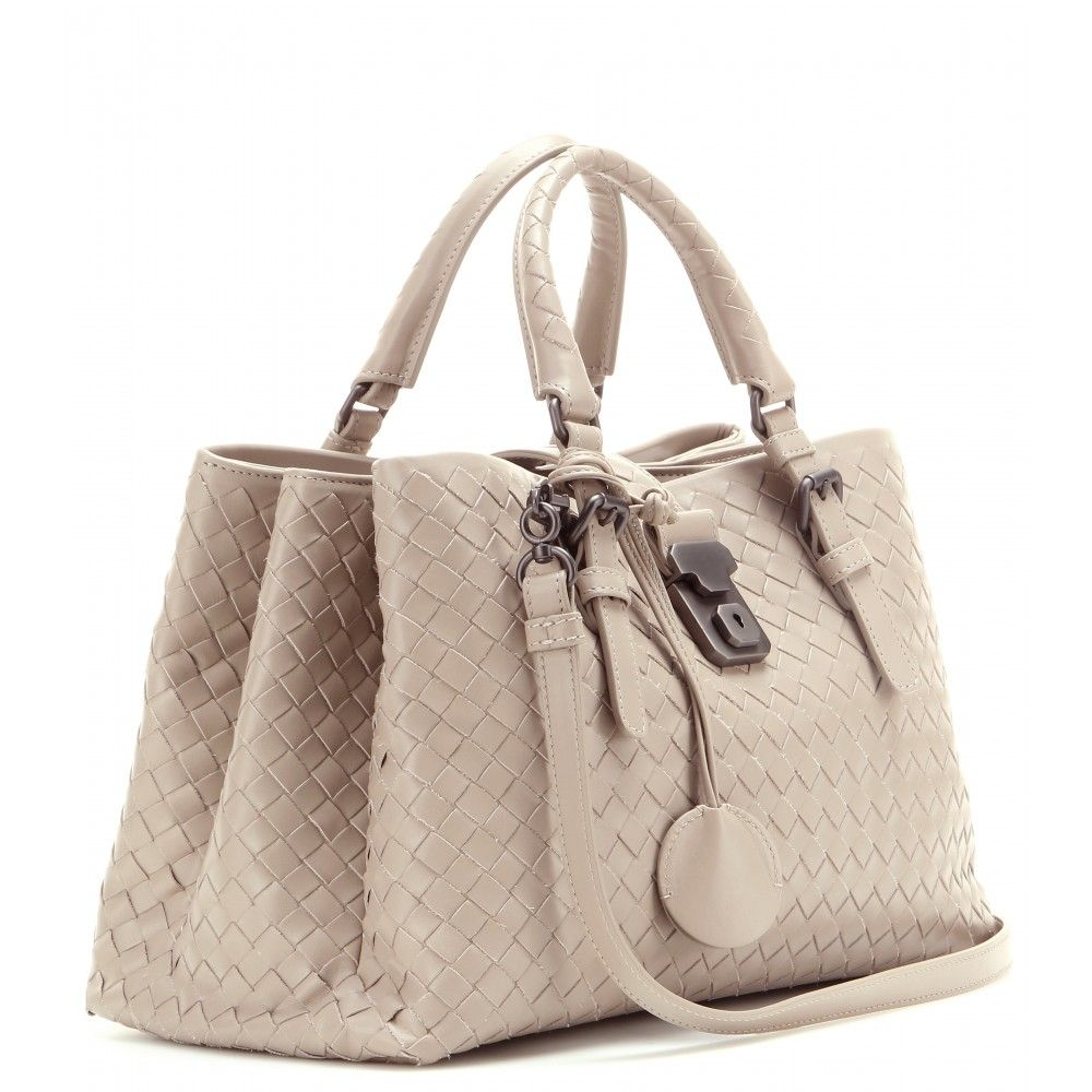 Mini Roma Intrecciato Leather Tote ✽ Bottega Veneta - mytheresa.com ... 09586360401b4