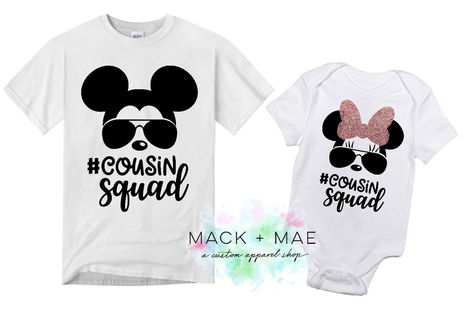 b203c846 Matching Disney Cousin Shirts, Sunglasses Mickey Mouse Inspired, Cousin  Squad Vacation, Disney Matching Tops, Minnie Mouse, Kid Mickey Shirt