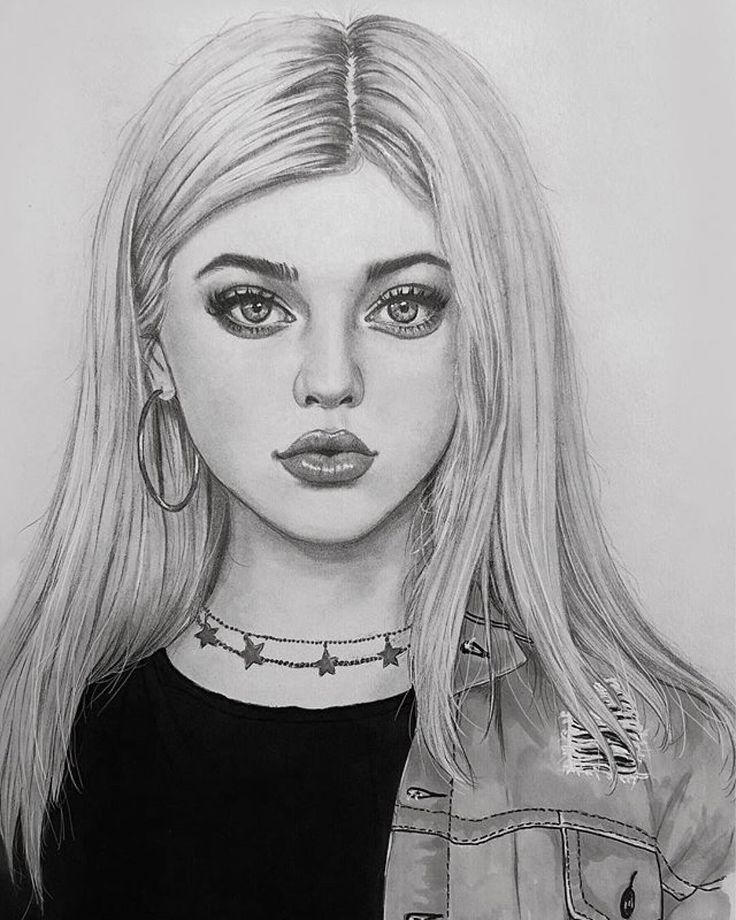 Drawings Of People Gambar Realistis Seni Menggambar Cara Menggambar