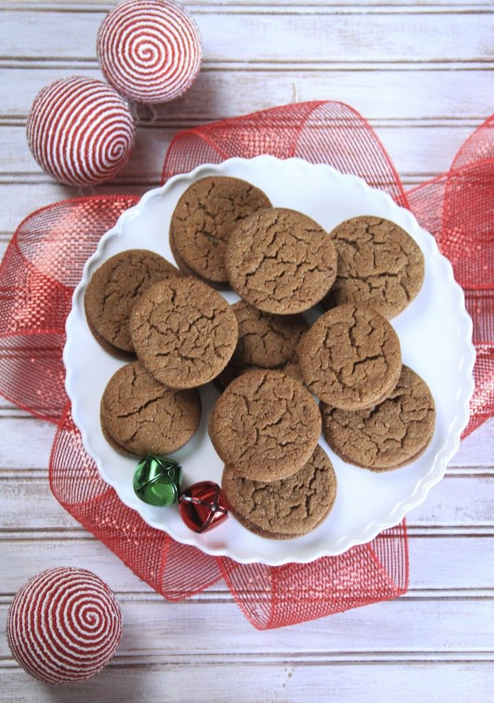 These Gingersnap Mocha Cookies from SatisfyMySweettooth.com are part of a friendly competition between our baking blogger friends to come up with the best cookie inspired by our Gingersnap Cookie Mocha. It's going to be a tough decision!