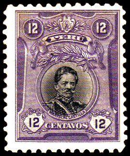 1918 - PERU GOBERNANTES MARISCAL CASTILLA.