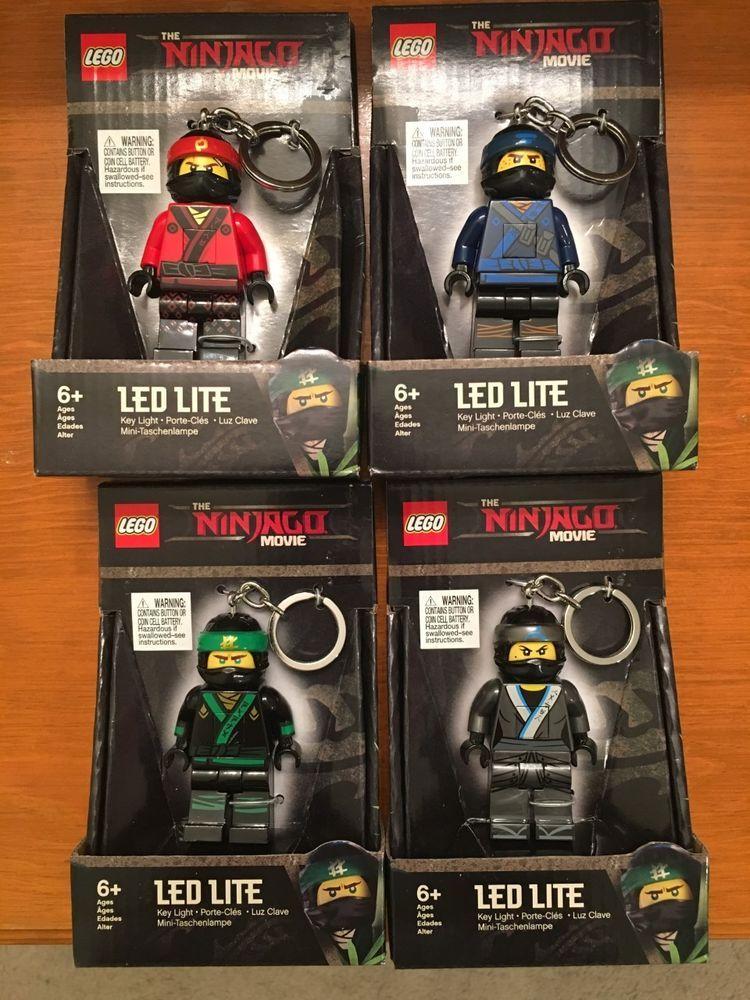 "LEGO ""Ninjago"" Movie Lloyd LED Key Light."
