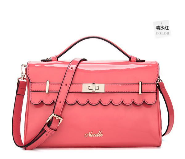 19th Street Scalloped Trim Satchel