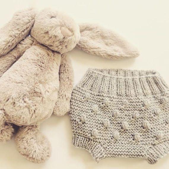 Bombacho de palomitas de maíz de tejido a mano lana | Crochet ...